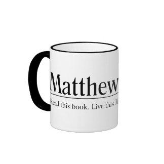 Read the Bible Matthew 22:37 Coffee Mug