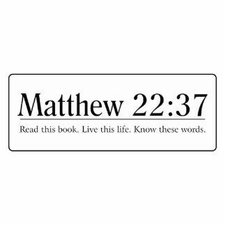 Read the Bible Matthew 22:37 Photo Cut Outs