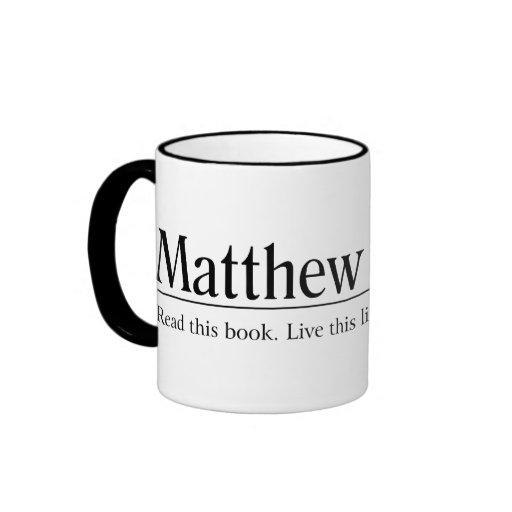 Read the Bible Matthew 5:1-12 Mugs