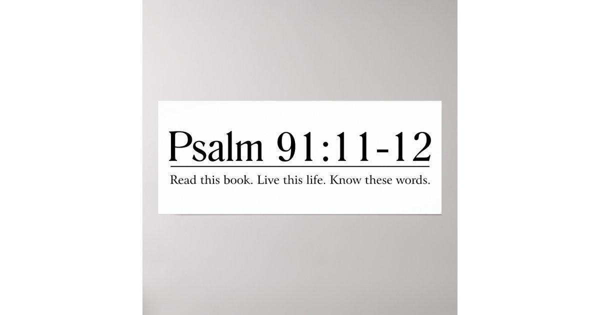 Psalm 91 11-12