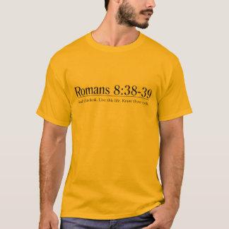 Read the Bible Romans 8:38-39 T-Shirt