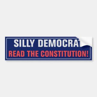 Read The Constitution Bumper Sticker