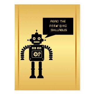 Read the Friendly Syllabus Postcard
