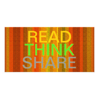 Read Think Share Card