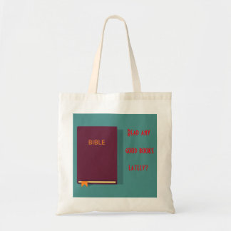 Read your Bible tote bag