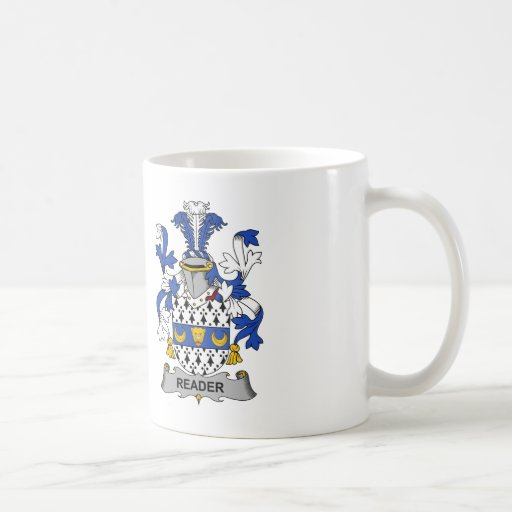 Reader Family Crest Coffee Mugs