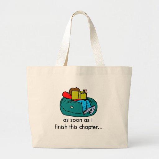Reader T-shirts and Gifts. Jumbo Tote Bag