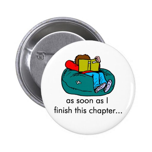 Reader T-shirts and Gifts. Pinback Buttons