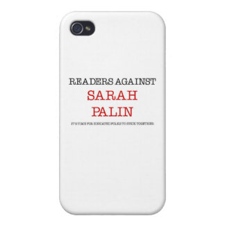 Readers Against Sarah Palin iPhone 4 Covers