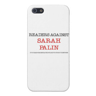 Readers Against Sarah Palin Cases For iPhone 5