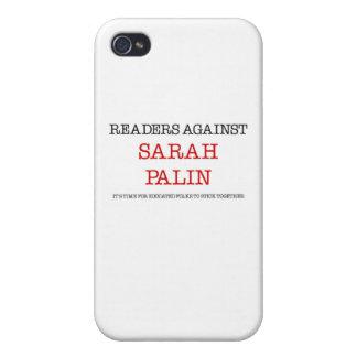 Readers Against Sarah Palin iPhone 4 Covers