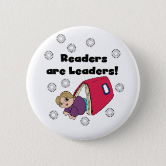 Readers Are Leaders 6 Cm Round Badge