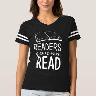 Readers Gonna Read Football Shirt