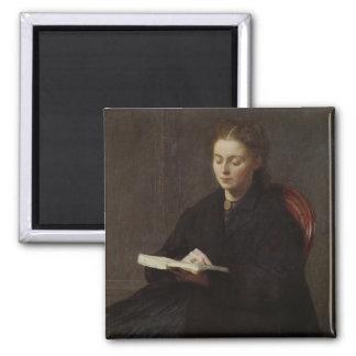 Reading, 1863 magnet