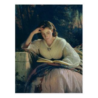 Reading , 1863 postcard