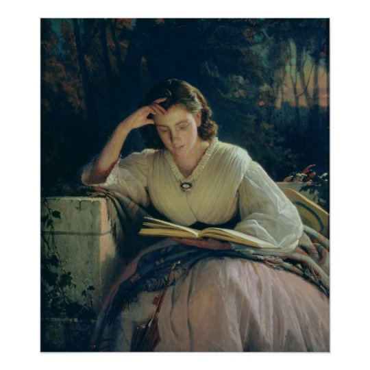 Reading , 1863 poster