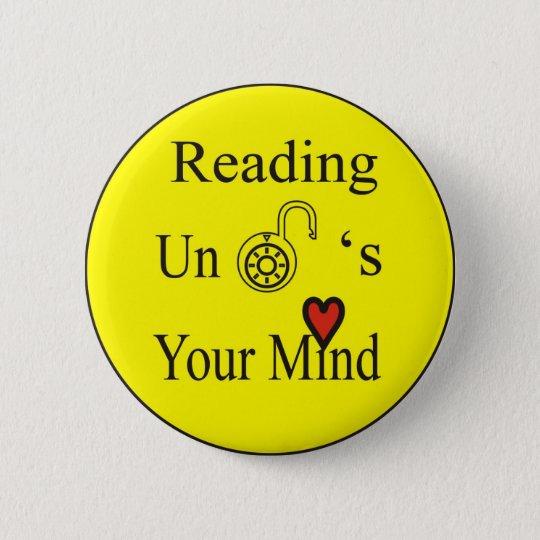 Reading 6 Cm Round Badge