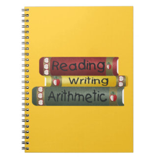 Reading and Writing and Arithmetic Notebooks