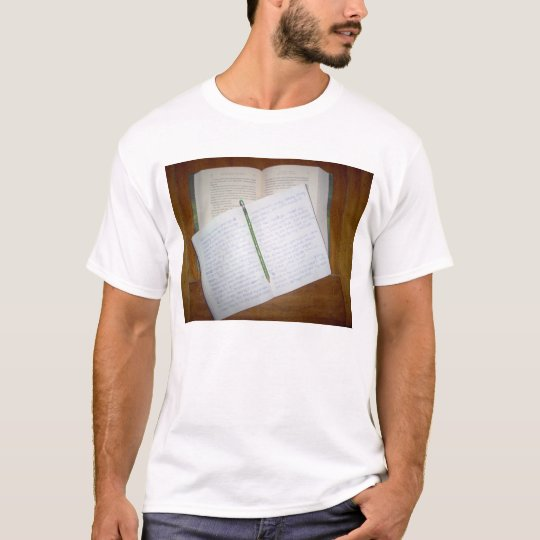 reading and writing T-Shirt