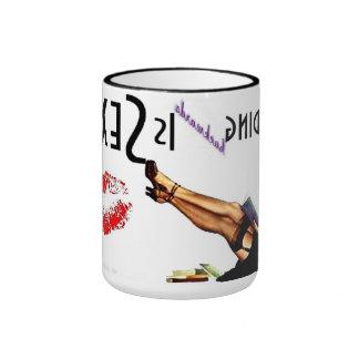 Reading Backwards is... Ringer Mug