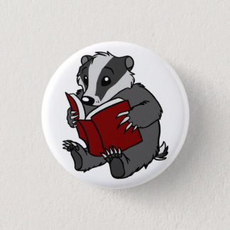 Reading Badger 3 Cm Round Badge