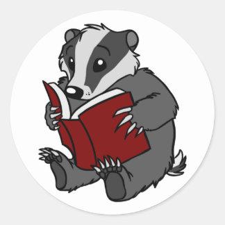 Reading Badger - Sticker