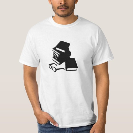 Reading Books and Glasses T-Shirt