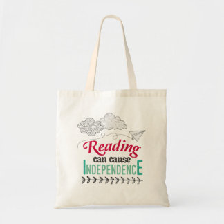 Reading can cause Independence bag