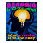 Reading Exercise Posters