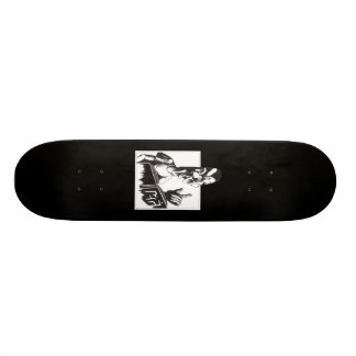 Reading from the Book 21.3 Cm Mini Skateboard Deck