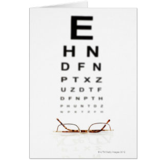 Reading Glasses Card