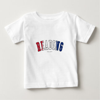 Reading in United Kingdom national flag colors Tee Shirts