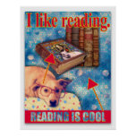 READING IS COOL POSTER