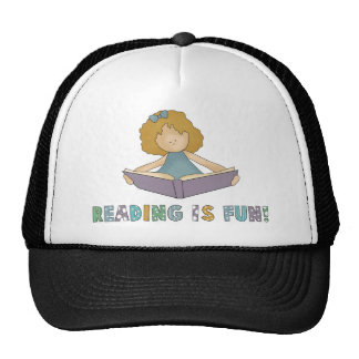 Reading Is Fun! Cap