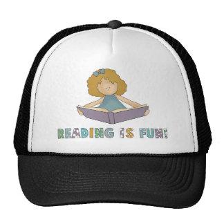 Reading Is Fun! Cap
