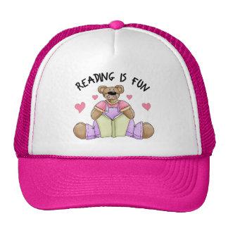 Reading Is Fun School Gift Trucker Hats