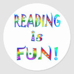 Reading is Fun Stickers