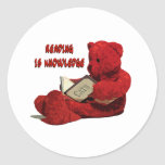 READING IS KNOWLEDGE STICKERS