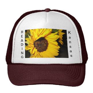 Reading Kansas caps Cap