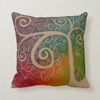 Reading Peace Love Pillow