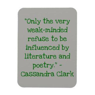 Reading Quote Magnet Cassandra Clark