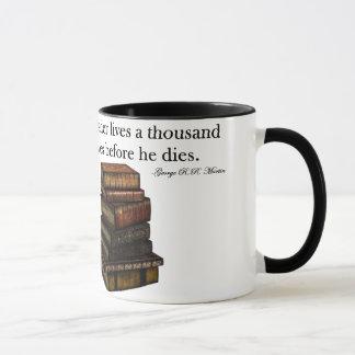 Reading quote mug