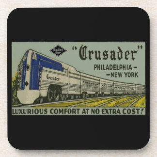 Reading Railroad Crusader 1937 Coaster