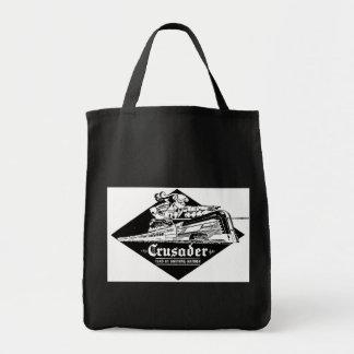 Reading Railroad Crusader Streamliner Tote Bags