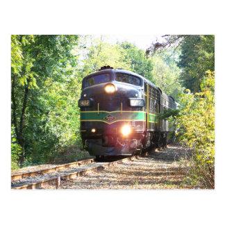 Reading Railroad Lines FP7 Diesel Locomotive 902 Post Card