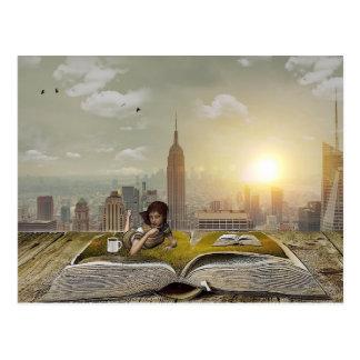 Reading Refuge - Customize Me! Postcard