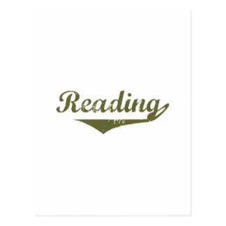 Reading Revolution t shirts Post Cards