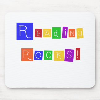 Reading Rocks Mouse Pad