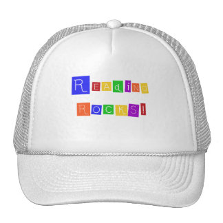 Reading Rocks TShirts and Gifts Hats