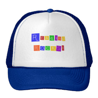 Reading Rocks TShirts and Gifts Mesh Hat